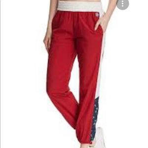 Juicy Couture Colorblock Wind Track Athletic Pant